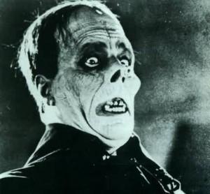 Lon Chaney Sr. as The Phantom in Universal's 'Phantom of the Opera'