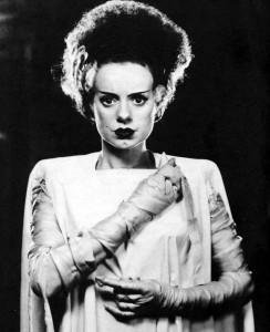 Elsa Lanchester as The Bride