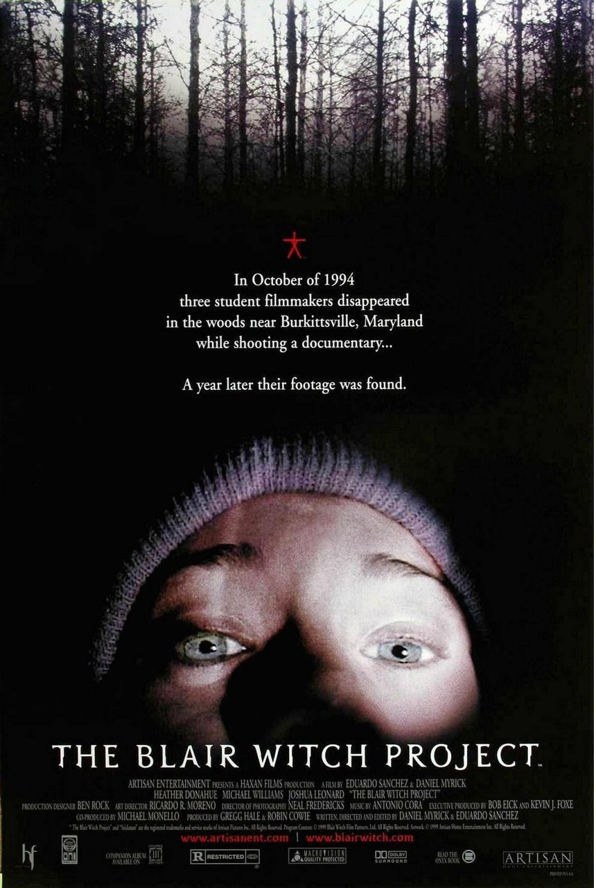 the blair witch project story The truth it was a movie with a concept that came about when the two writer/directors realized that the documentaries they liked to watch about the paranormal were.