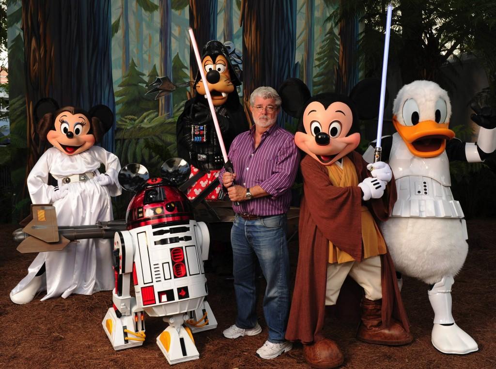 George Lucas & Disney Characters