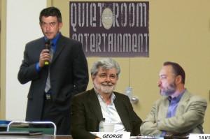 George Lucas at Quiet Room Entertainment