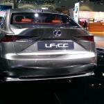 Lexus hybrid concept car.