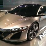 Amazing concept Acura NSX.