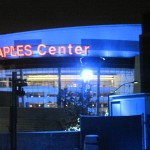 Staples Center From The Parking Structure Roof