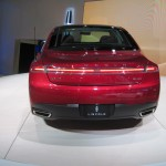 Rear-end of MKZ.