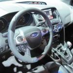 Focus ST interior.