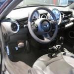 Cooper S interior.