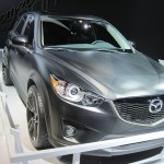 Carbon-fiber looking CX-5.
