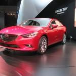 The new Mazda 6.