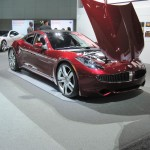 These Fisker Karmas are beautiful cars.