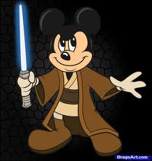Mickey Mouse Jedi