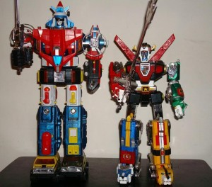 Voltron 1 and Voltron 3