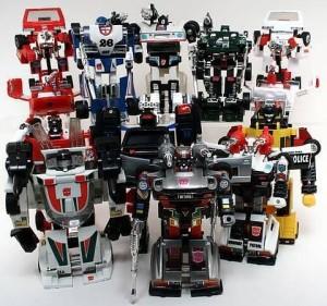 1984 Transformers Car Robot Modes