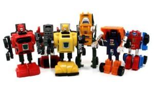 1984 Autobot Minicars Robot Mode