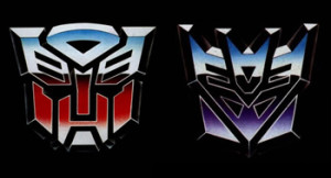 Transformers Factions Logo